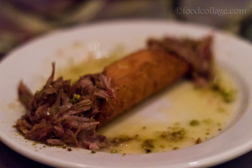 Duck Cannoli at Kaleidoscope Cafe