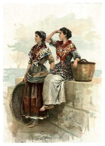 006-Esperando la pesca- Gabril Puig-Roda- Album Salon 01-1907- Hemeroteca digital de la Biblioteca Nacional de España
