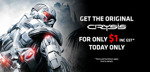 Crysis 1 24 Hour Sale!