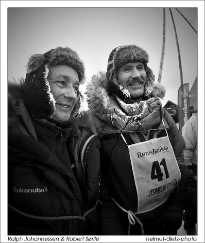 Ralph Johannessen & Robert Sørlie, Femundlopet 2012, Røros