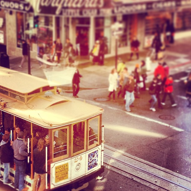 Taken for a ride #cablecar #muni #sfphotohunt