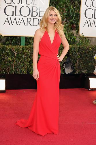 Claire Danes in Versace
