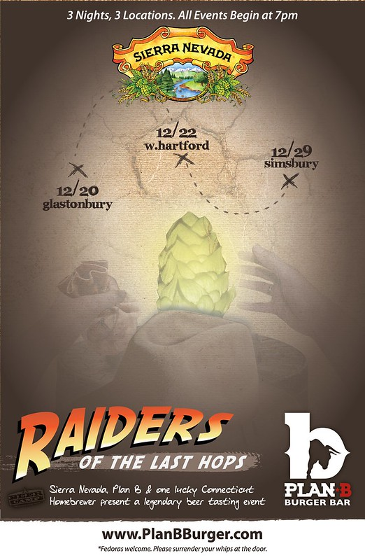 Raiders of the Last Hops Poster