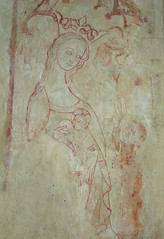 Blessed Virgin suckling the Christchild while a donor looks on