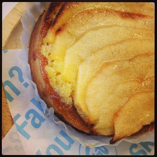 Photo:りんごのタルト食べる、わたし、うれしい By madams_lunch