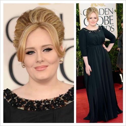 Adele in Burbery