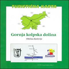 1157 PR Gornja Kolpska dolina Općina Kočevje vodić 14.VIII.1998.