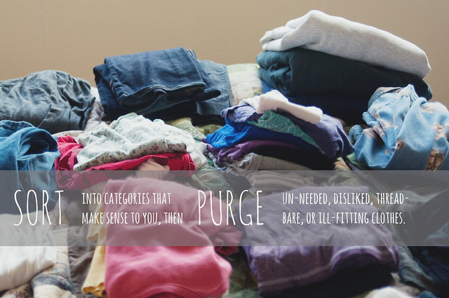 Sort, then Purge