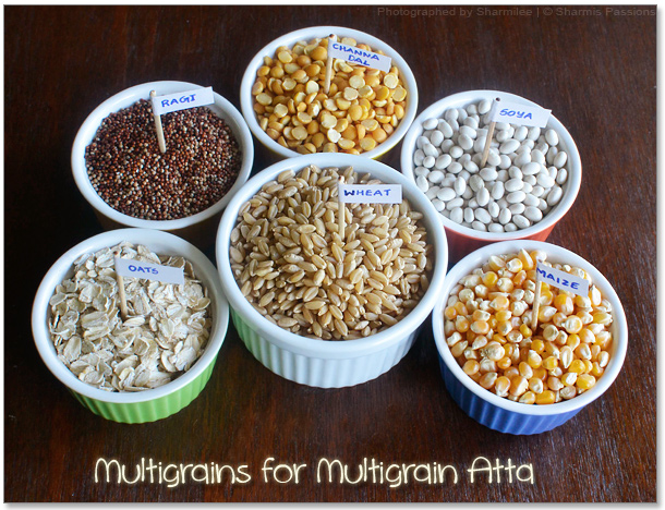 Homemade Multigrain Atta Recipe