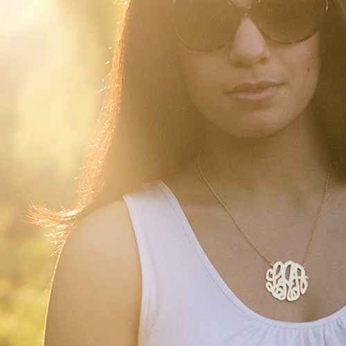 Monogram Necklace -$70 (GC)