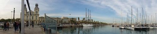Barcelona Marina Panorama