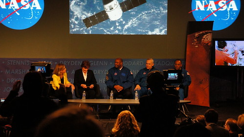 NASA HQ Open House Astronaut Panel