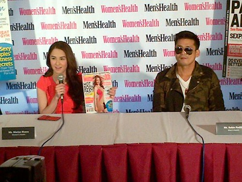 Marian Rivera and Robin Padilla