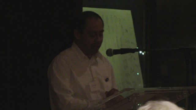 MVI_5775 Javier speech Legacy award to SBAU Chuck 106s