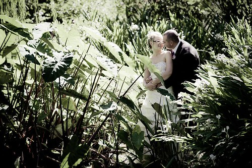 Couple Amongst Foliage