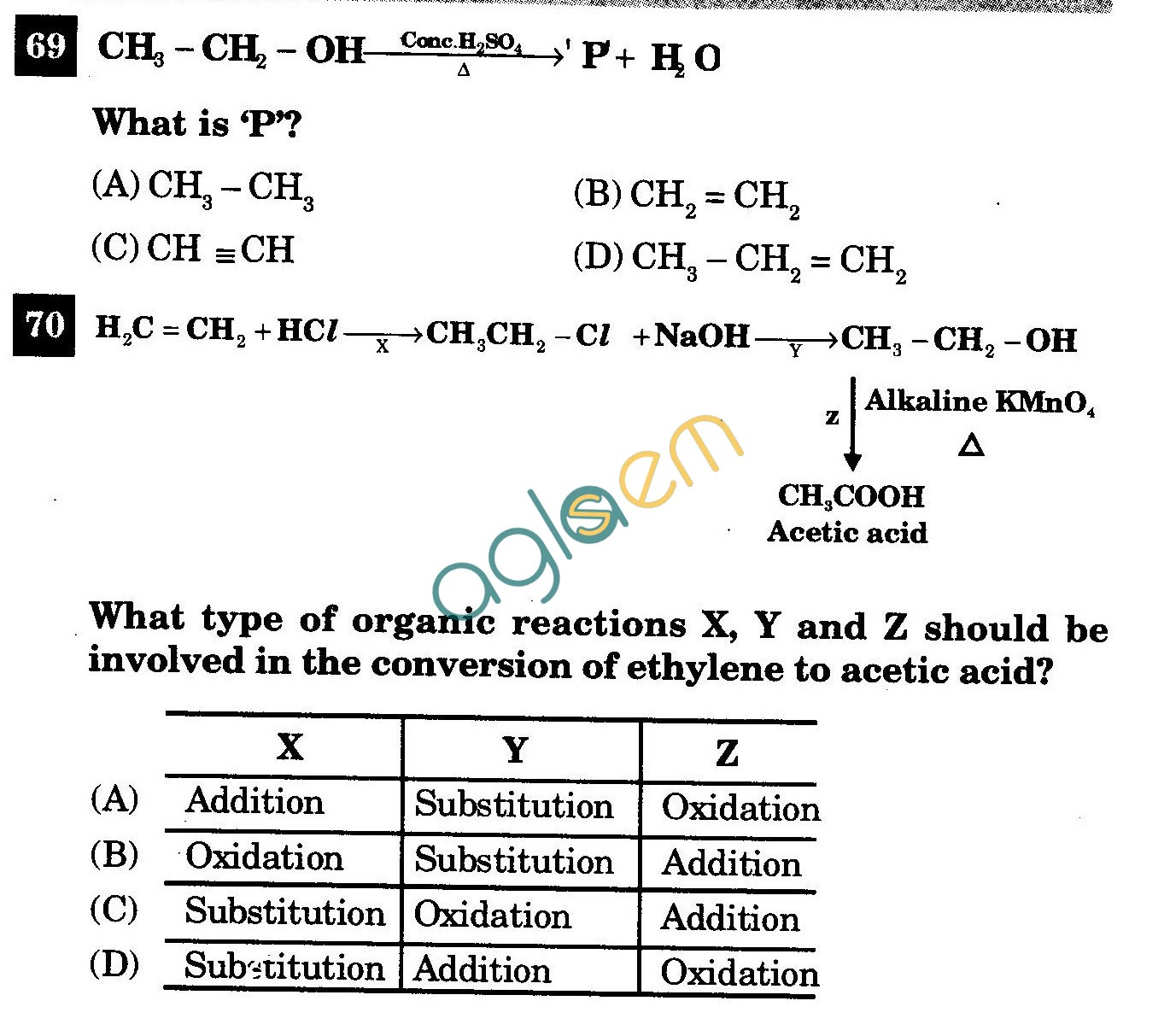 NSTSE 2011 Class X Question Paper with Answers - Chemistry
