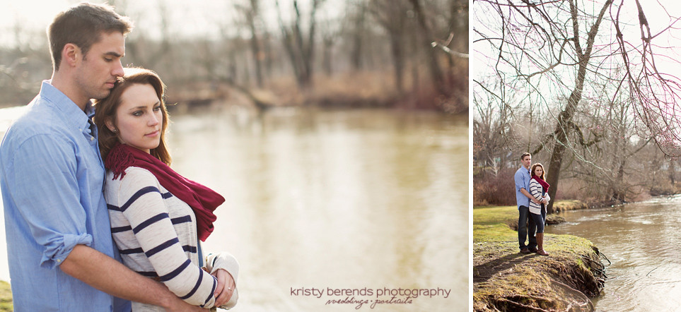 Engagement Session on the Rogue River in Rockford