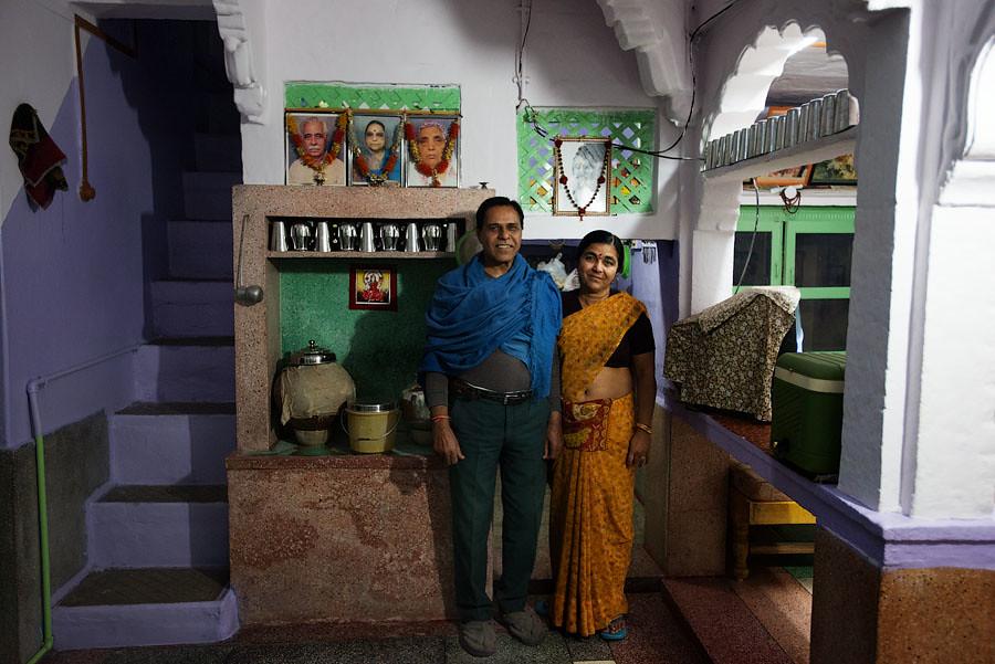 Rajhastan family, Jodhpur, India