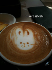 today's cappuccino @ caffera