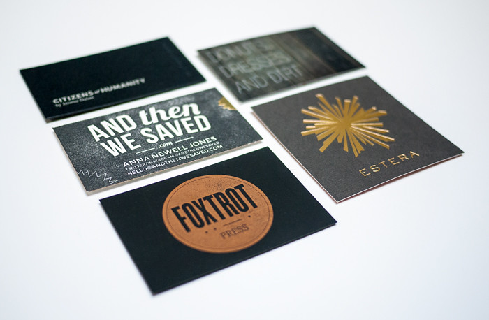 Alt Summit Business Cards 2013 - Black