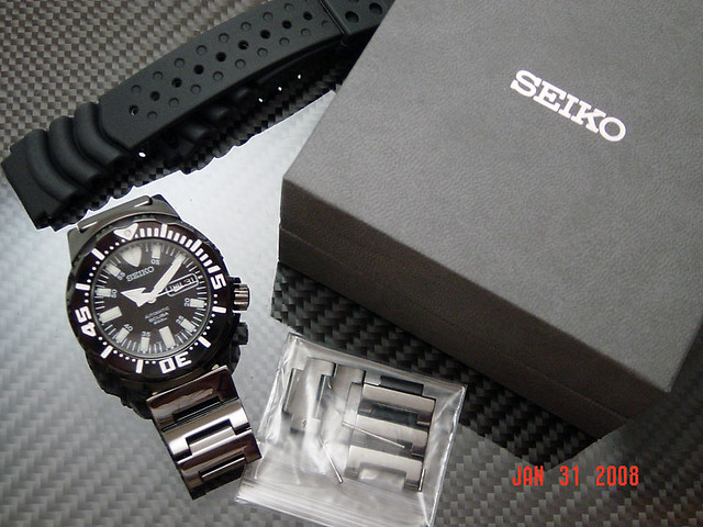 Seiko Black Monster