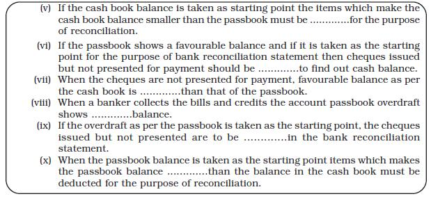 NCERT Class XI Accountancy: Chapter 5 – Bank Reconciliation Statement