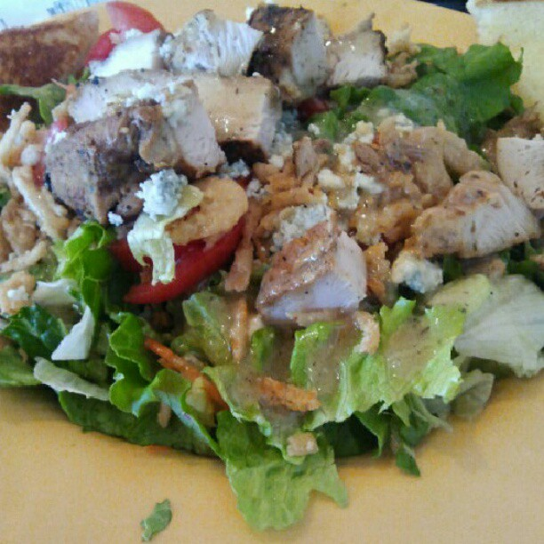 Lunch time grilled chicken salad zaxbys flickr photo sharing for Zaxby s the house zalad garden