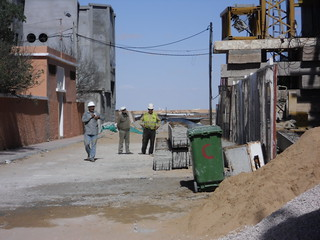Workers in Laayoune