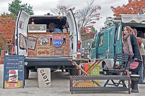 Camioneta hamburguesera