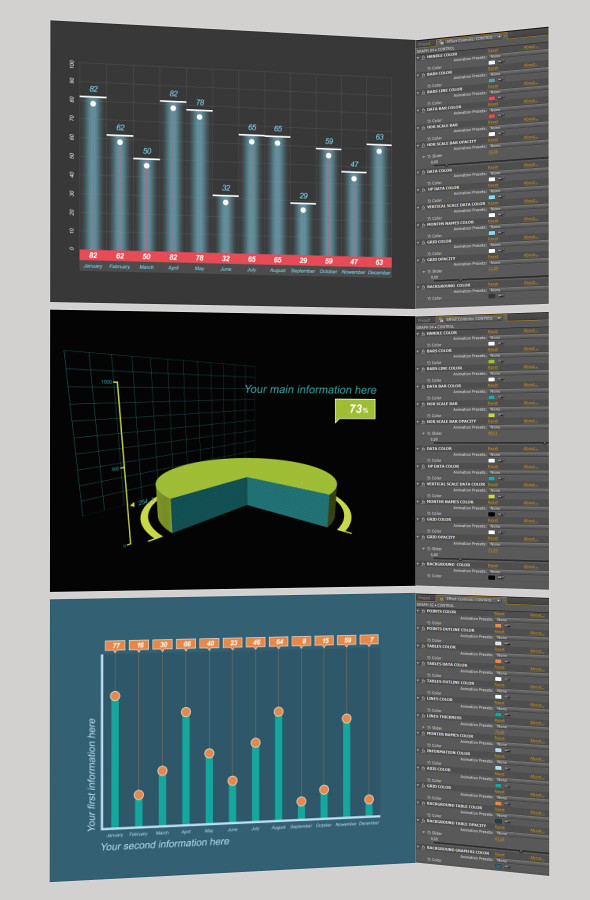 After effects infographic template download