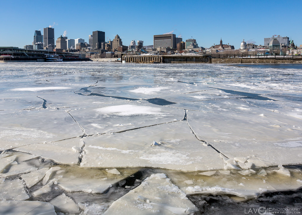 montreal cold ice winter st-lawrence
