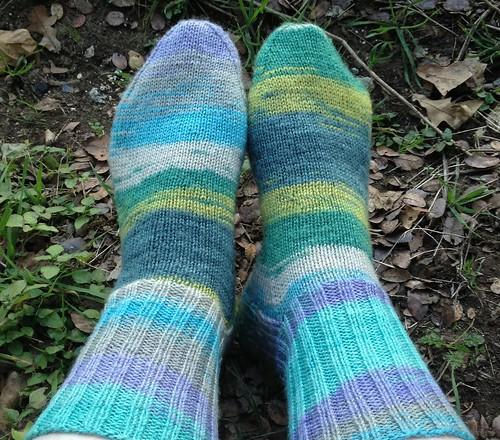 i knit socks BOO-YAH