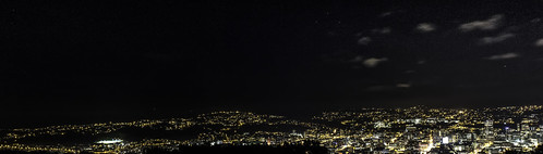 Wellington City Lights by Astronomr