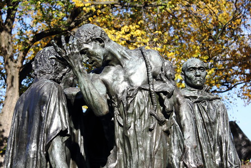 Auguste Rodin: The Burghers of Calais