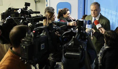 Declaraciones de Esteban González Pons sobre las cuentas del Partido Popular