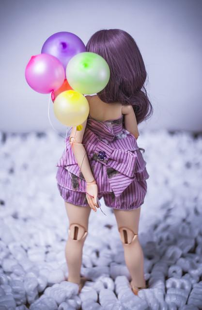 A Doll a day - Saturday - Balloon