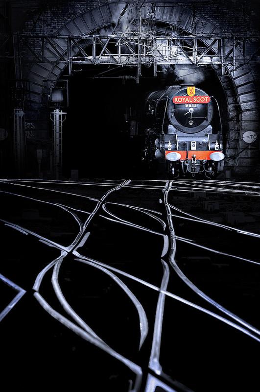 Royal Scot steam train