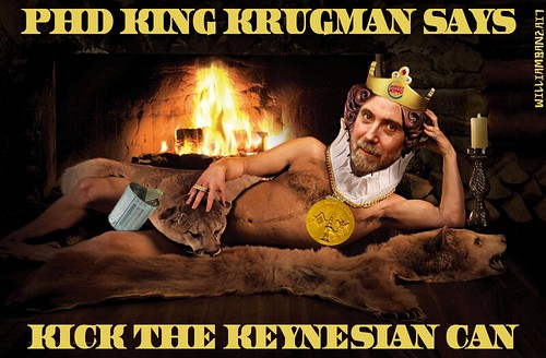 PHD KING KRUGMAN by Colonel Flick/WilliamBanzai7
