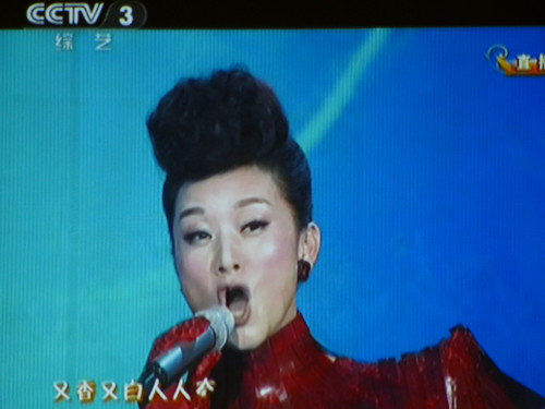 Chine-Celine Dion et Song Zhu Ying (1)