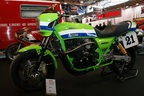 "Kawasaki Z1000 ""Lawson replica"" (1980) by Cédric JANODET"
