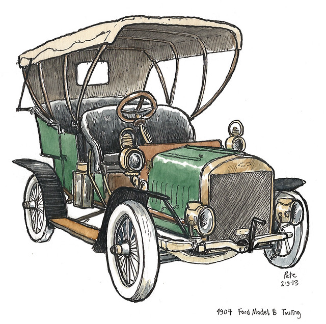1904 ford model B