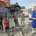 Sally Sara films in Kabul