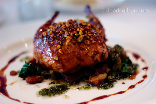 Cranberry Molasses Lacquered Quail at Commander's Palace (New Orleans)