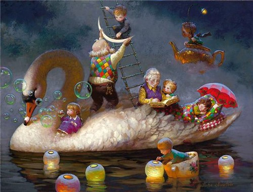 Siren+song+-+Victor+Nizovtsev+1965+-+Russian+Fantasy+painter+-+Tutt%27Art@+%2817%29