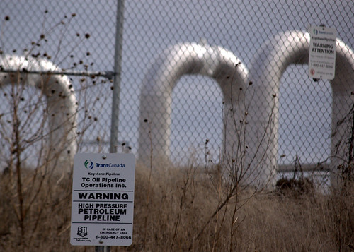 Keystone Pipeline by Shannon Patrick via Flikr