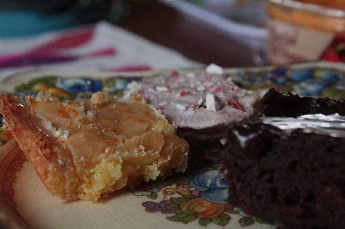 "the now traditional, ""Winter Sunshine"" (orange blondies)"