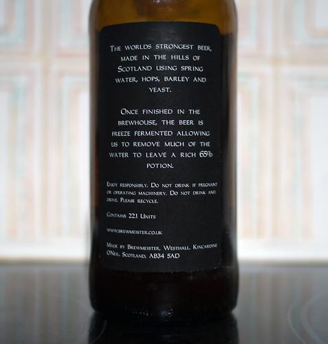La bière la plus forte du monde - © Brett Jordan / Flickr CC.