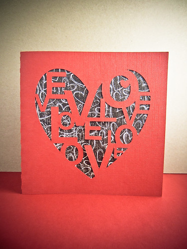 2013 Heart/Love VDay Card