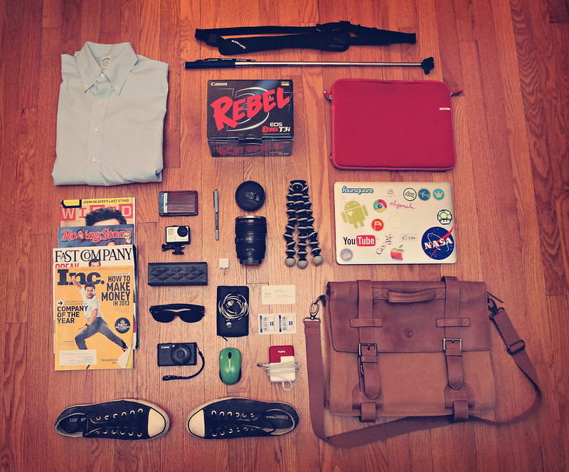 What is in Ramsey Mohsen's bag? This.