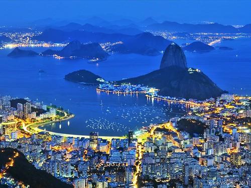 Blue Hour in Rio de Janeiro
